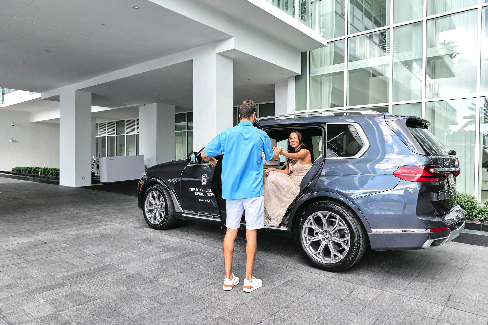 Ritz Carlton Residences Miami Beach Private House Car