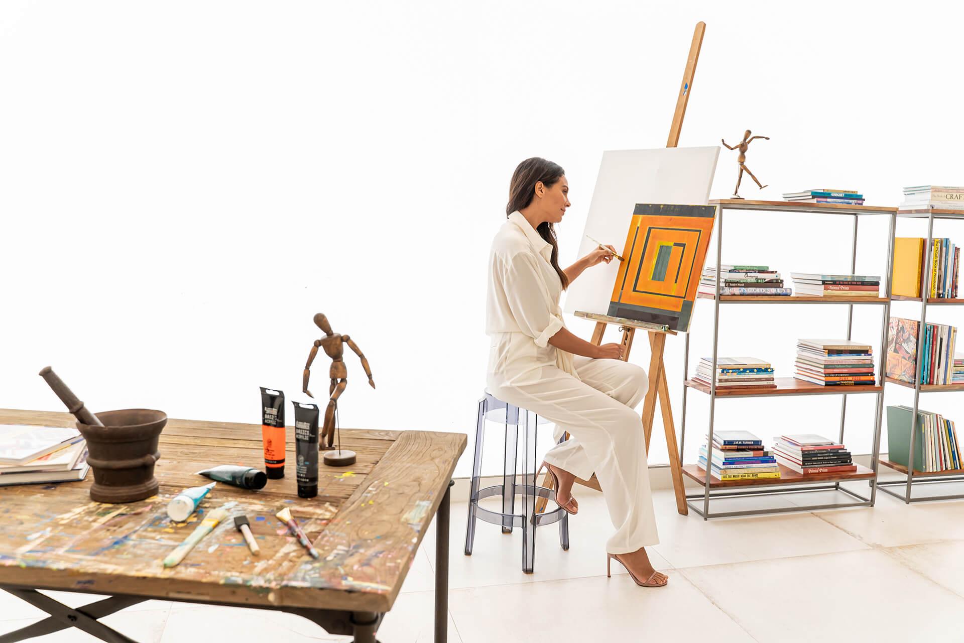Ritz Carlton Residences Miami Beach Residential Art Studio